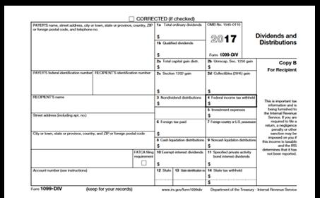 1099 DIV Online   E-file 1099 DIV   IRS Form 1099-DIV Reporting
